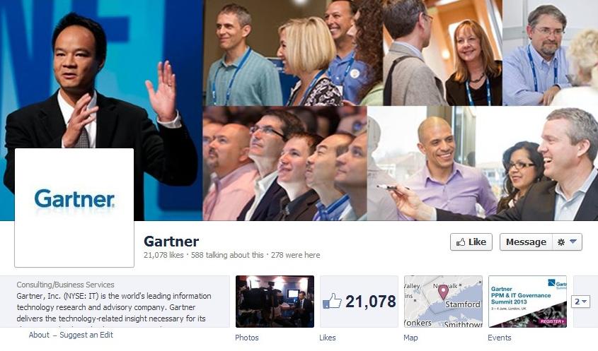 Gartner-Facebook-Page