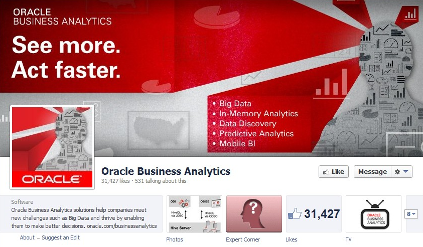 Oracle-Business-Analytics-Facebook